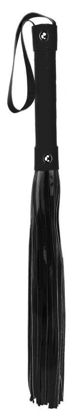 Чёрная плетка Whip - 53 см. фото