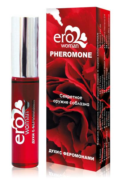 Женские духи с феромонами Erowoman №7 - 10 мл. фото