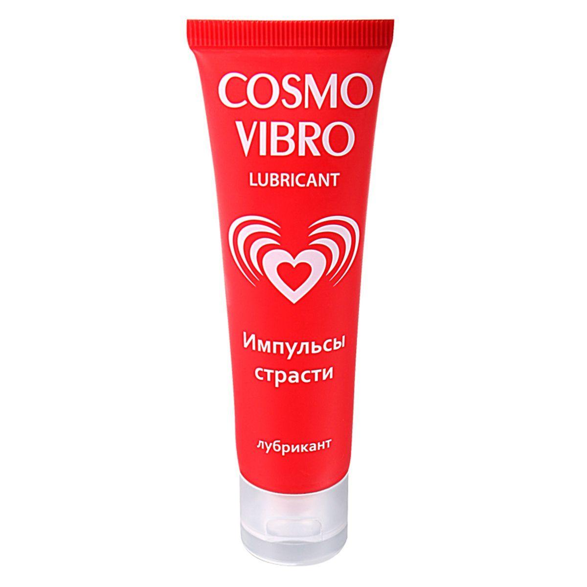 Женский стимулирующий лубрикант на силиконовой основе Cosmo Vibro - 50 гр. фото