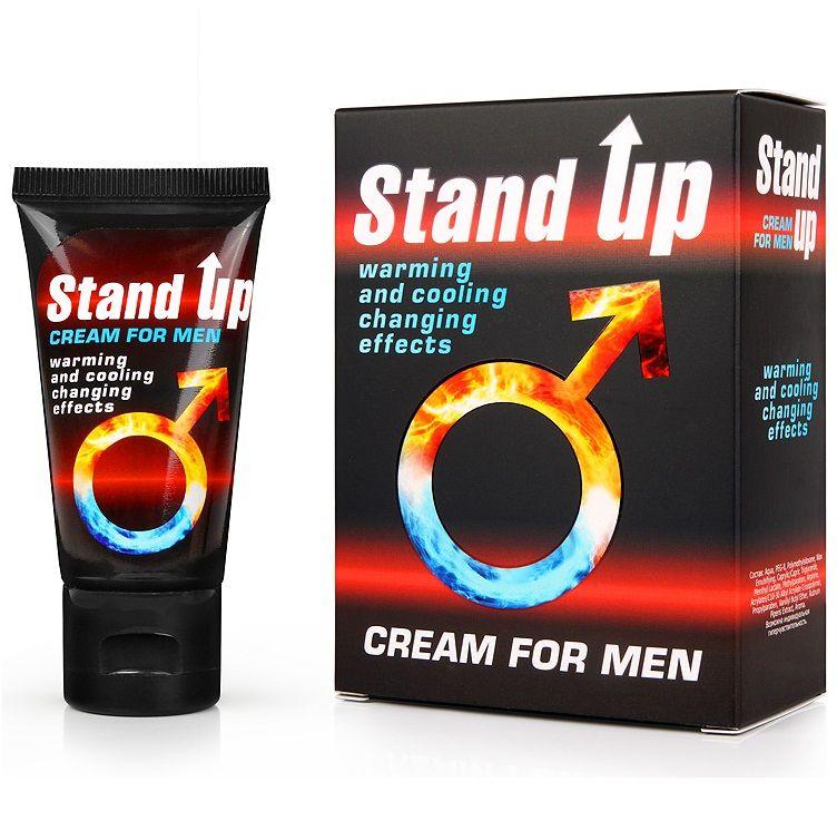 Возбуждающий крем для мужчин Stand Up - 25 гр. фото