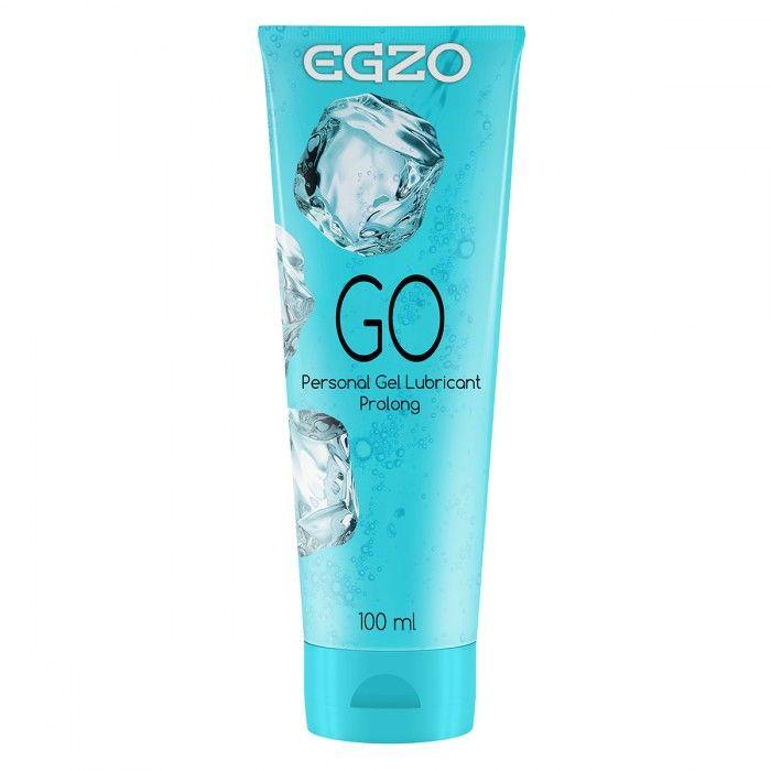 Пролонгирующий лубрикант на водной основе Egzo Go - 100 мл. фото