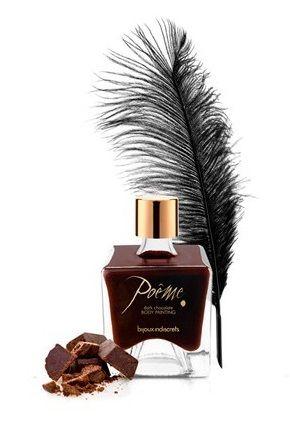 Краска для тела PO?ME DARK CHOCOLATE с ароматом шоколада - 50 мл.