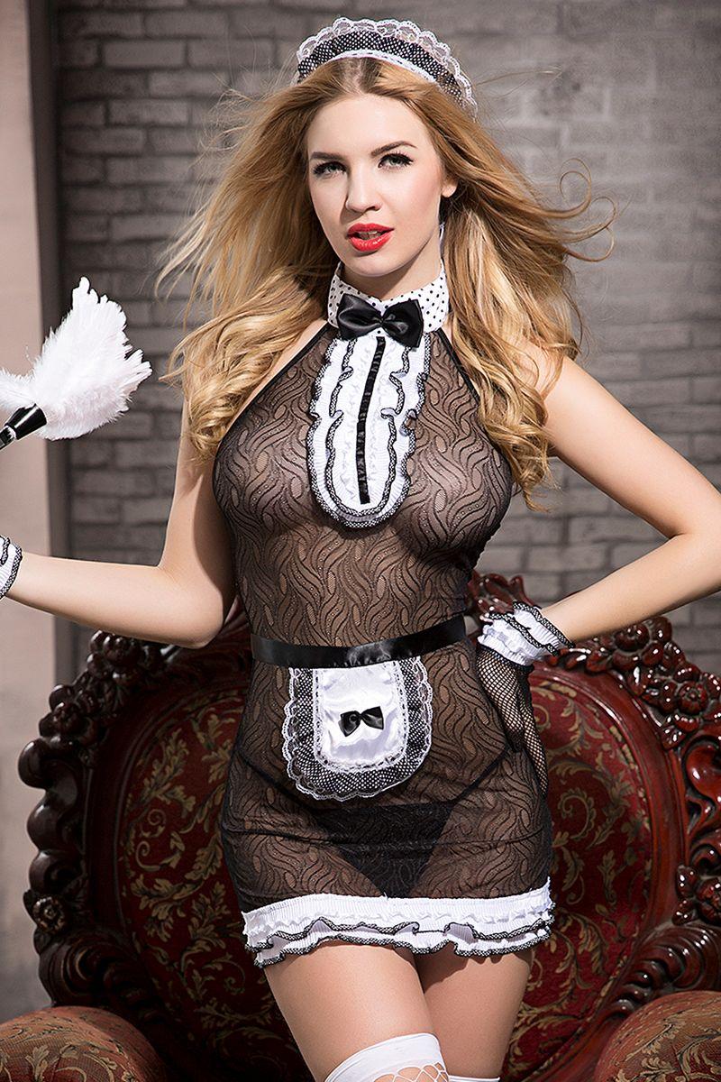 Роскошный костюм горничной Tiffany фото