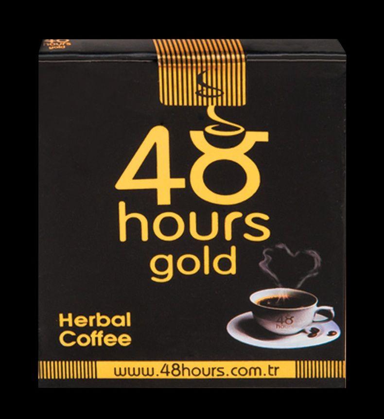 Возбуждающий растворимый кофе 48 hours gold - 20 гр. фото