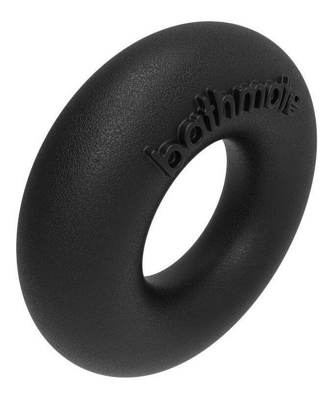Чёрное эрекционное кольцо Barbarian фото