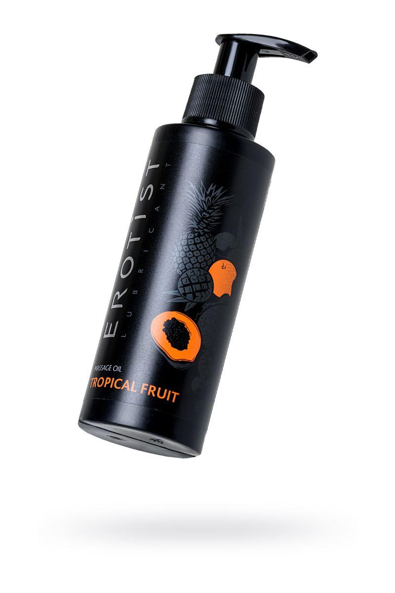 Массажное масло Erotist TROPICAL FRUIT с ароматом тропических фруктов - 150 мл. фото