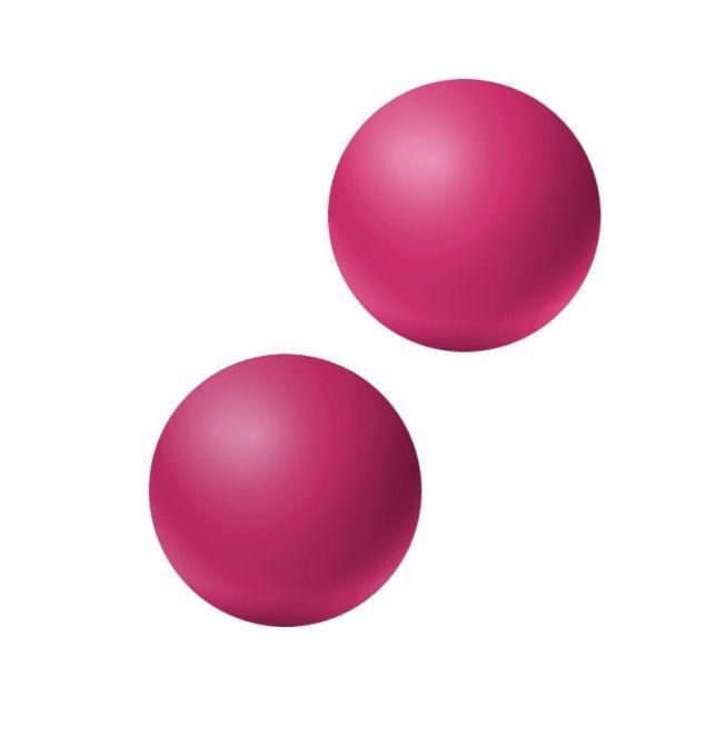 Ярко-розовые вагинальные шарики без сцепки Emotions Lexy Medium фото