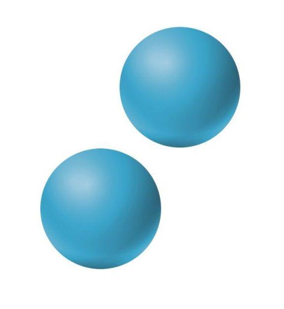Голубые вагинальные шарики без сцепки Emotions Lexy Small фото