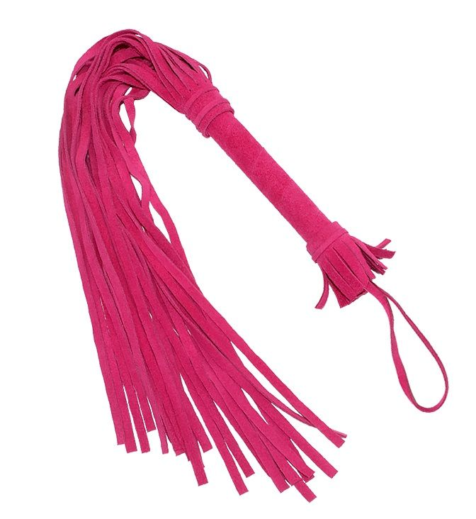 Розовая плеть «Королевский велюр» - 65 см..