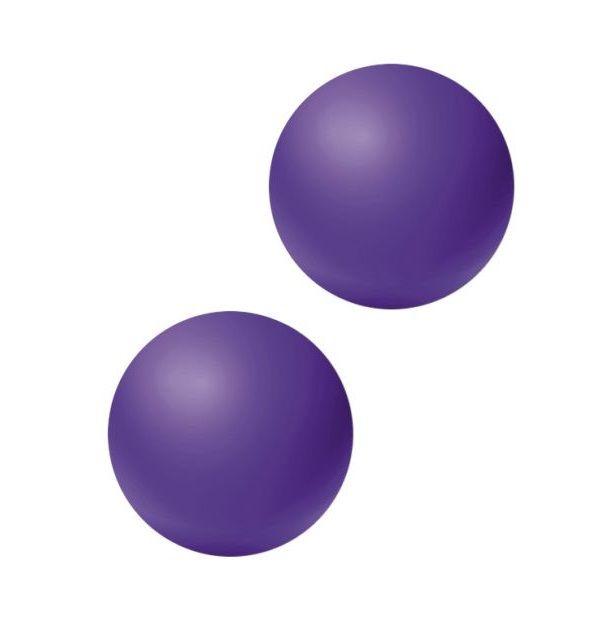 Фиолетовые вагинальные шарики без сцепки Emotions Lexy Small фото