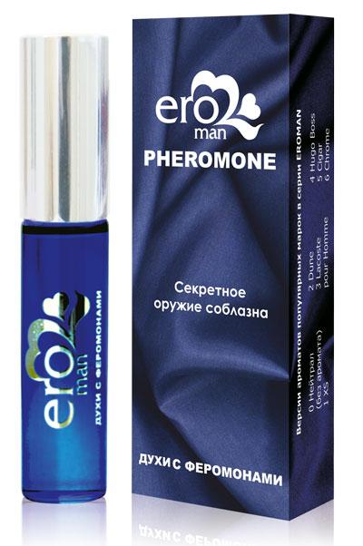 Духи с феромонами для мужчин Eroman №5 - 10 мл. фото